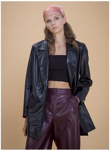 Selma Çilek X Boyner Ceket Siyah